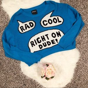 Size large Nasty Gal sweater